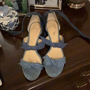 Denim Alexandre Birman sandals
